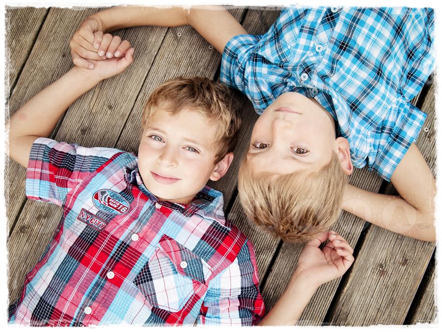 Kinderfotografie im Freien