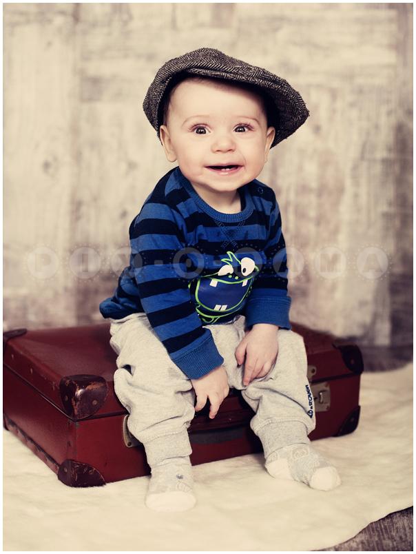 Süße Kinderfotografie